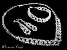 Komplet Swarovski crystal 133AB