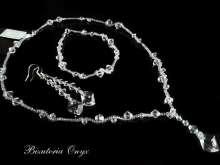 Biżuteria ślubna -komplet cosmic 02