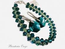 Komplet  emerald 032