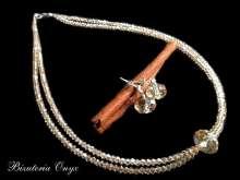 Komplet biżuteria ślubna z21