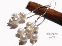 Kolczyki naturalne perły