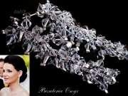 Kolczyki Swarovski grona crystal 46