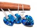 Komplet serca Bermuda blue 18,14